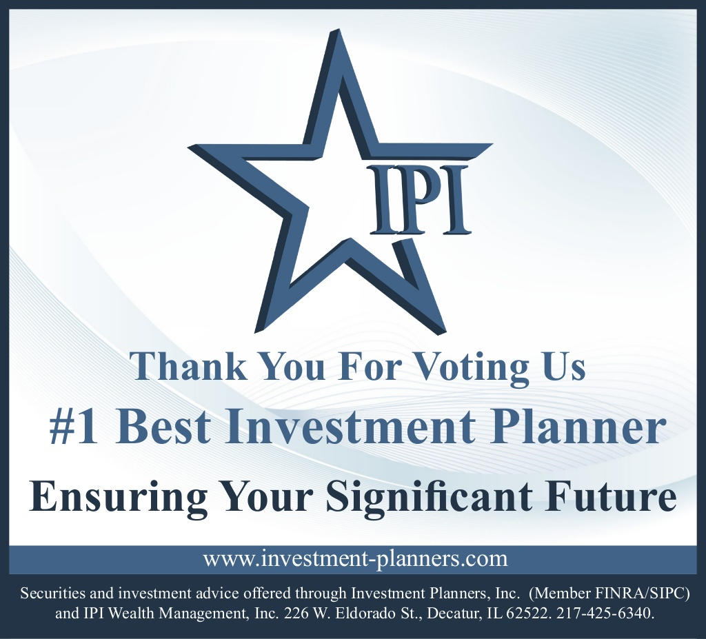 IPI Voted #1 Best Investment Planner photo